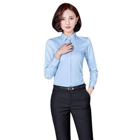女装衬衫长袖新款